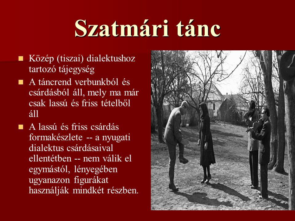 Szatmári tánc