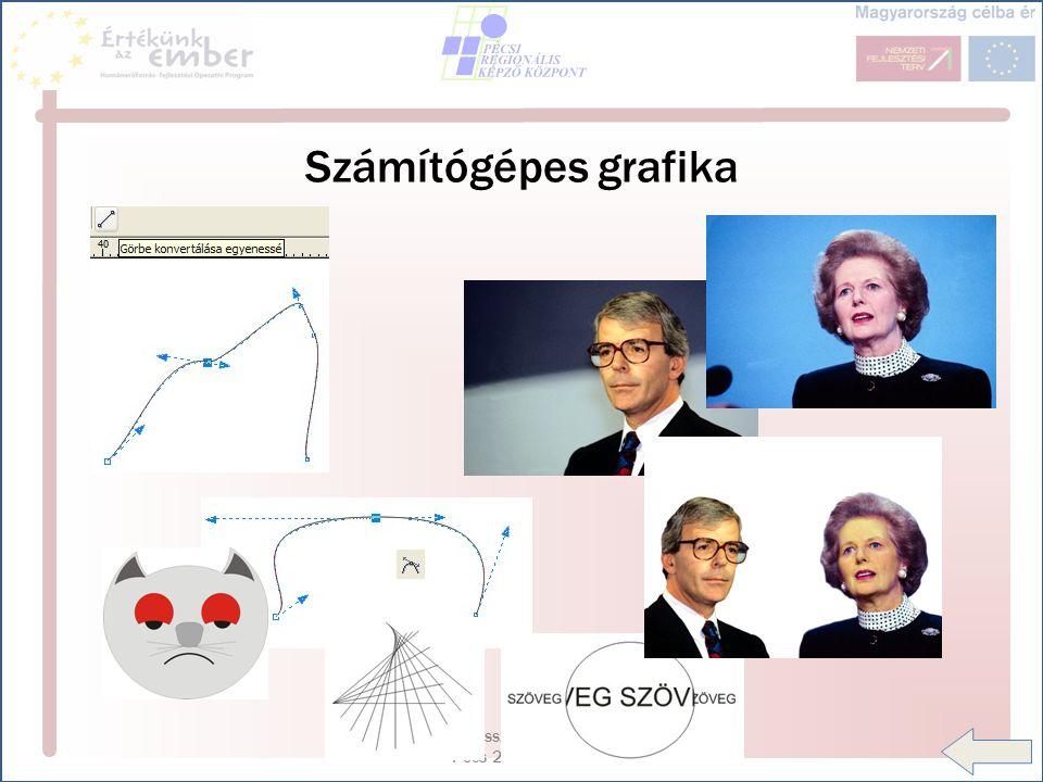 HEF OP 3.5.1 disszeminációs konferencia - Pécs 2007.12.03-04 Számítógépes grafika