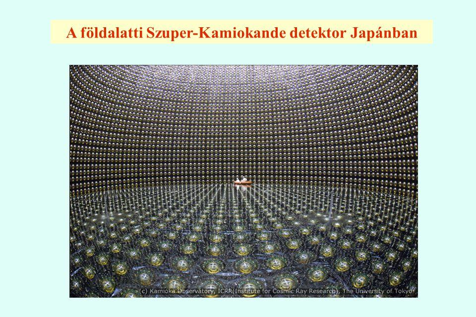 A földalatti Szuper-Kamiokande detektor Japánban
