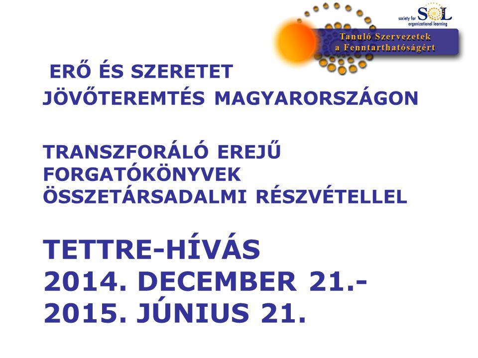 TETTRE-HÍVÁS 2014. DECEMBER 21.- 2015. JÚNIUS 21.