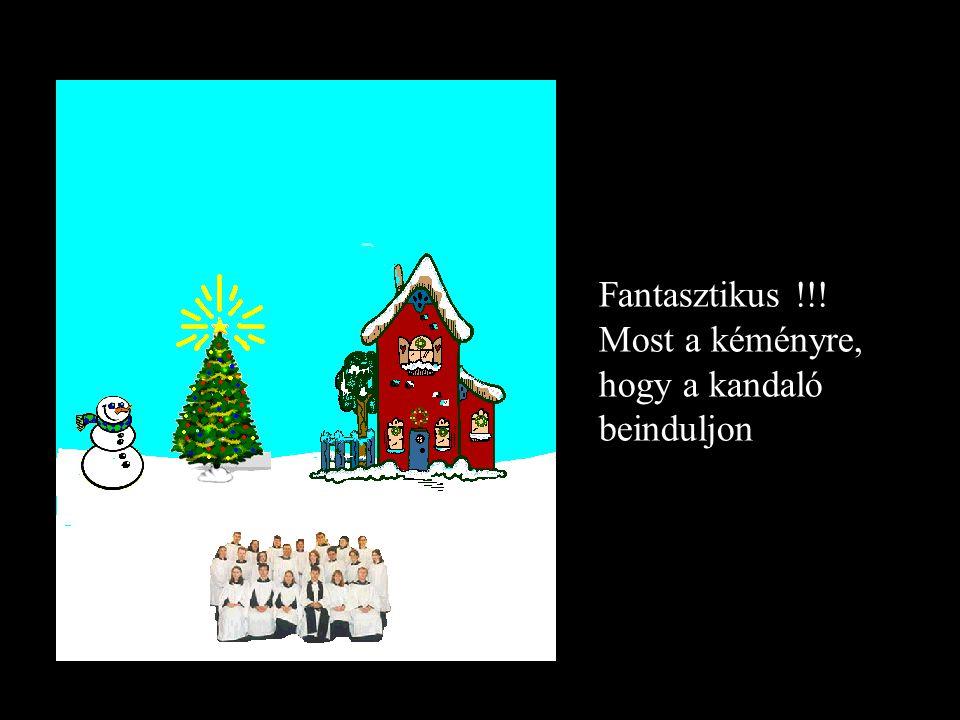 Ez a karácsony szelleme, most a fára klikelj, hogy az is világitson neked …