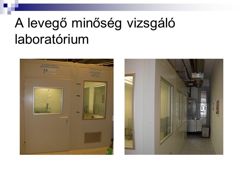 A levegő minőség vizsgáló laboratórium