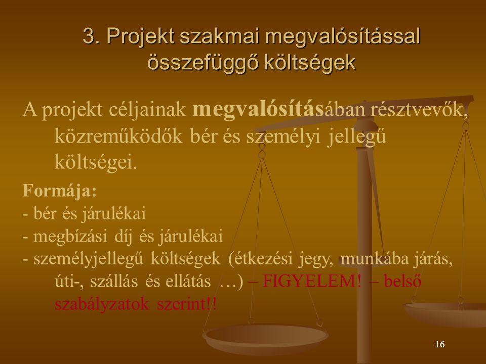 15 2.Projekt menedzsment költségei 2.