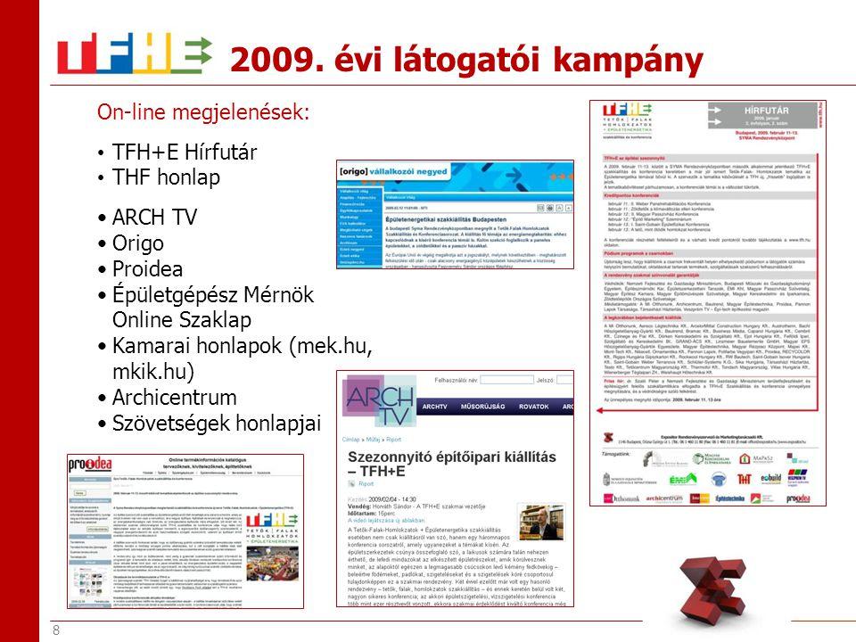 9 Proidea2008.11. 13. Buildinfo2008. 11. 17. Epitinfo2008.