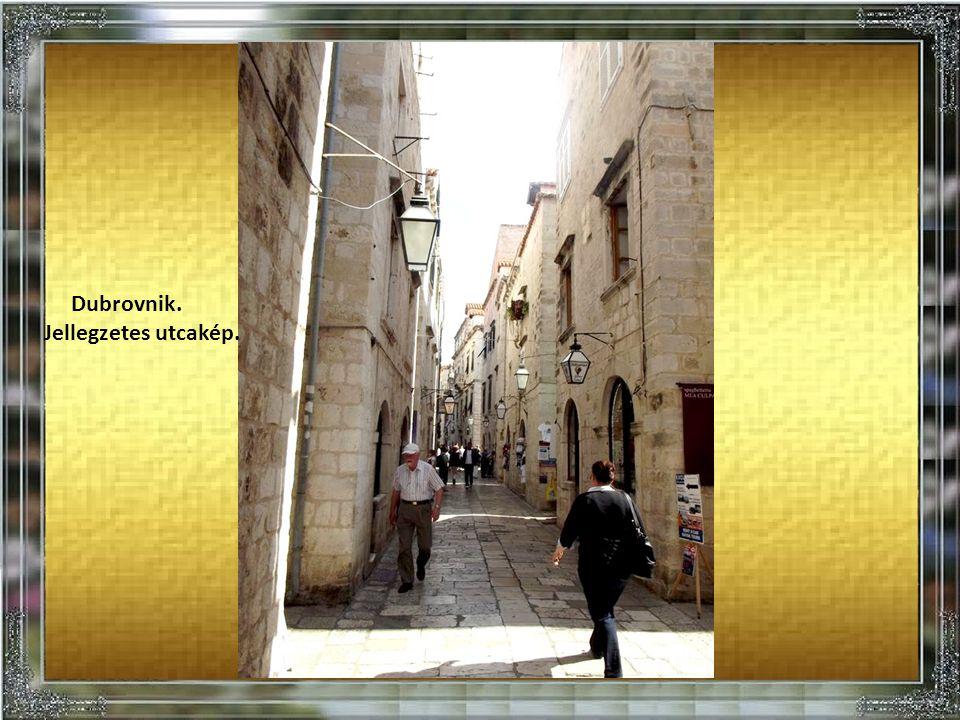 Dubrovnik, panorámakép.