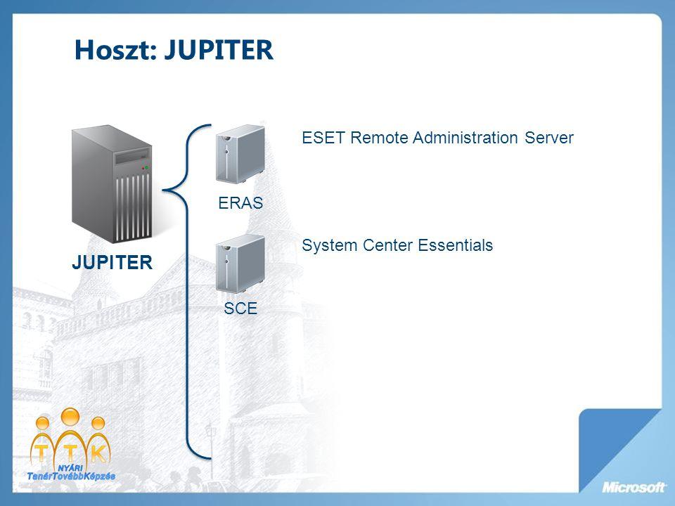 Hoszt: VENUSZ VENUSZ JEDLIK Windows Server 2008 R2 Active Directory TMG4 Windows Server 2008 R2 Forefront TMG PORTAL Windows Server 2008 R2 SharePoint Server 2010
