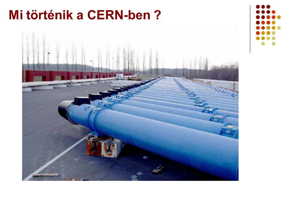 Mi történik a CERN-ben ?
