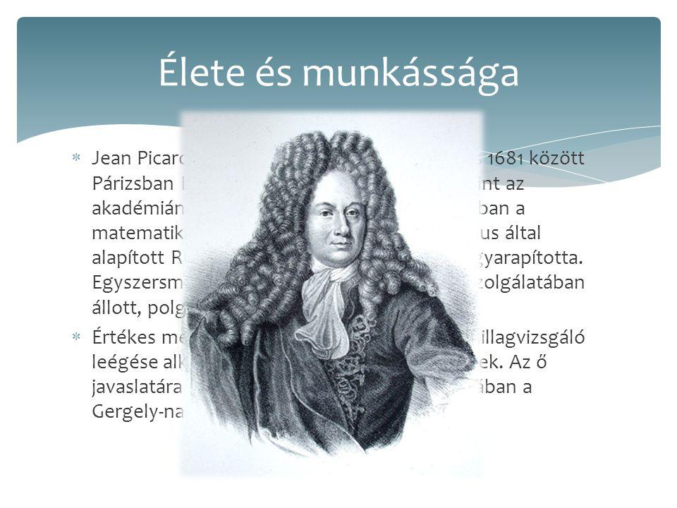  Jean Picard tanítványa és barátja volt. 1671 és 1681 között Párizsban Lajos trónörököst tanította, valamint az akadémiának is tagja volt, majd Koppe