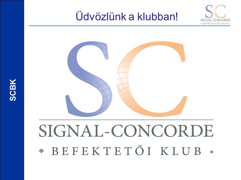 SCBK Üdvözlünk a klubban!