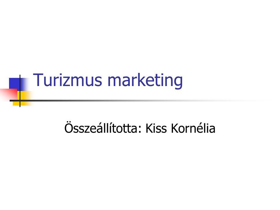 Turizmus marketing Összeállította: Kiss Kornélia