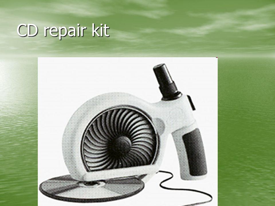 CD repair kit