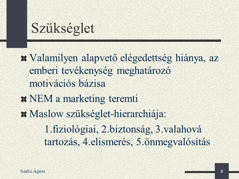 """Szabó Ágnes19 Pozicionálás Egyes termékek és márkák rangsora a vevők fejében – mint a létra fokai, és minden egyes fokon egy-egy márka """"Az Avis csak a 2."""