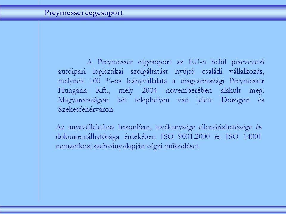 Preymesser Hungária Logisztikai Kft.