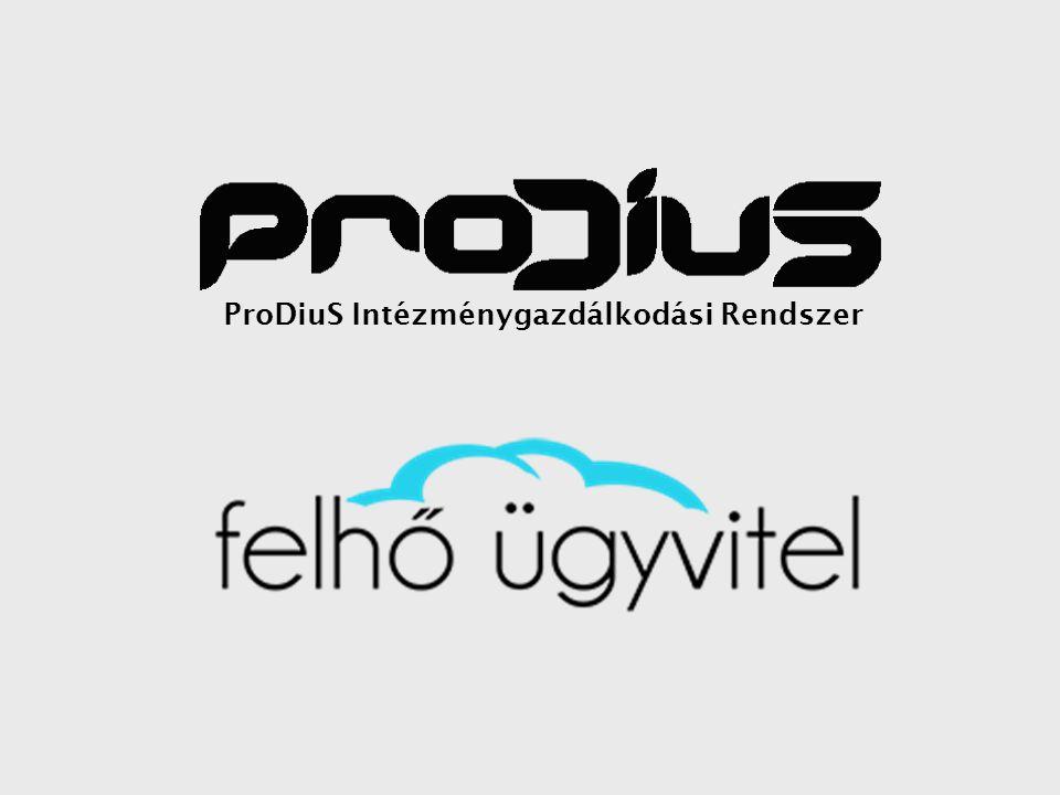 ProDiuS Intézménygazdálkodási Rendszer