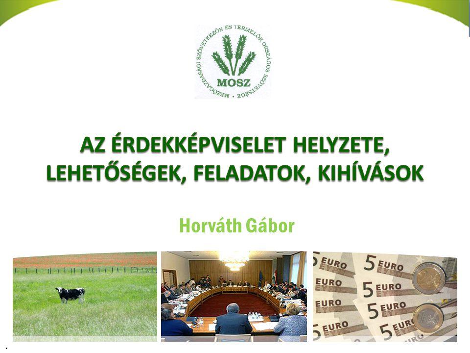 Horváth Gábor főtitkár.