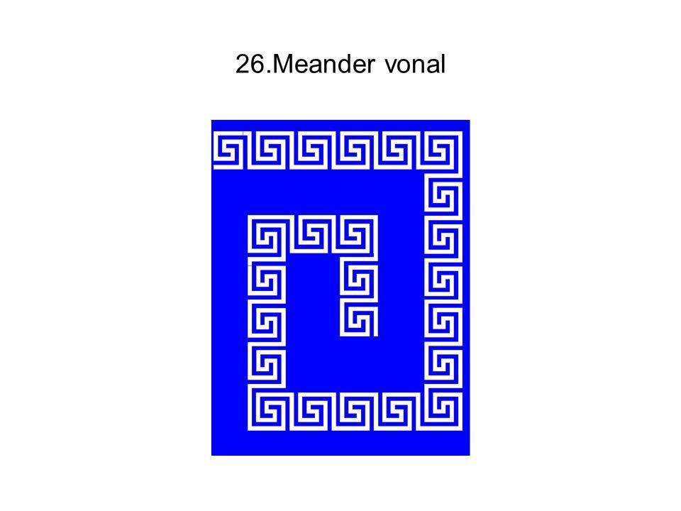 26.Meander vonal