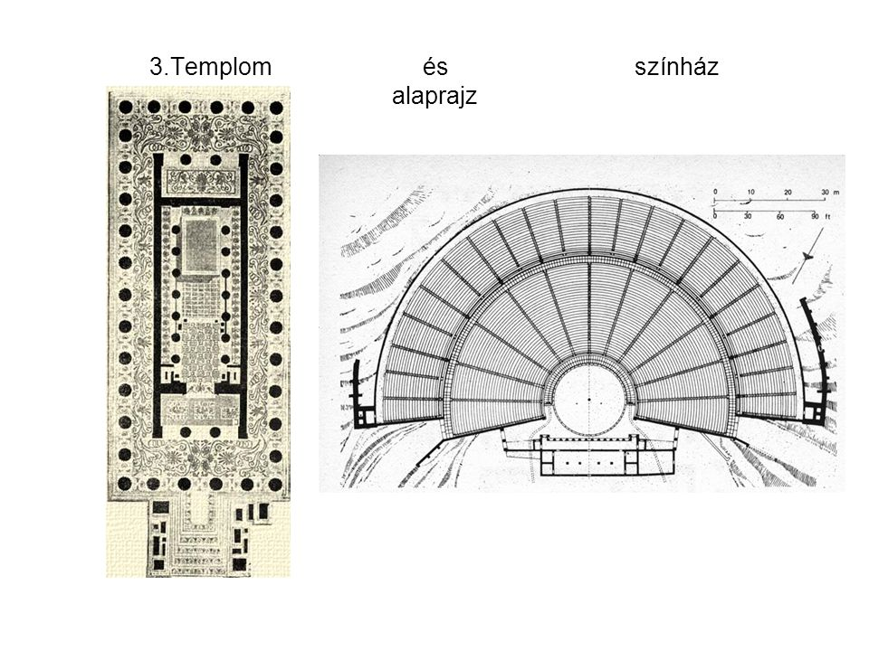 3.Templom és színház alaprajz