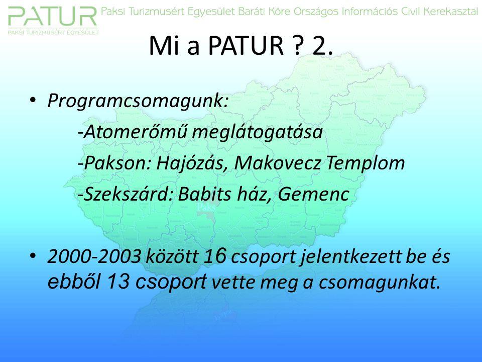 Mi a PATUR . 2.