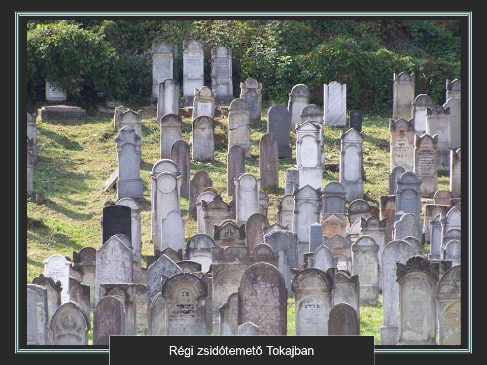 Régi zsidótemető Tokajban