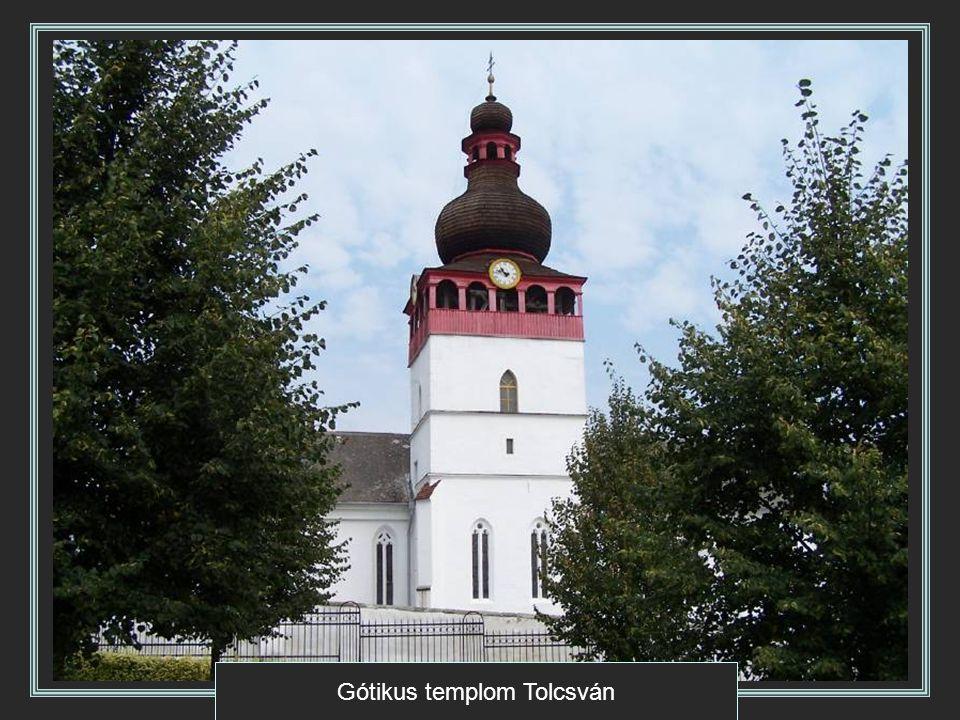 Gótikus templom Tolcsván