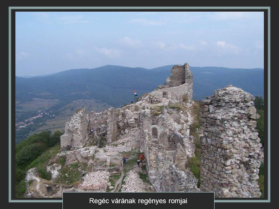 Regéc várának regényes romjai