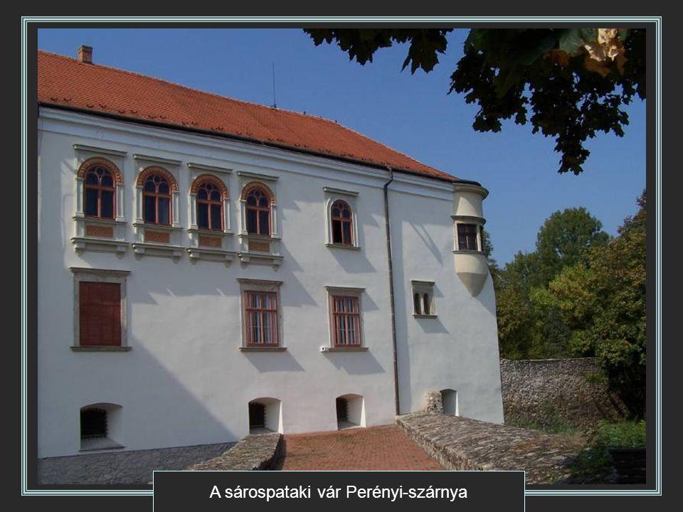 A sárospataki vár Perényi-szárnya