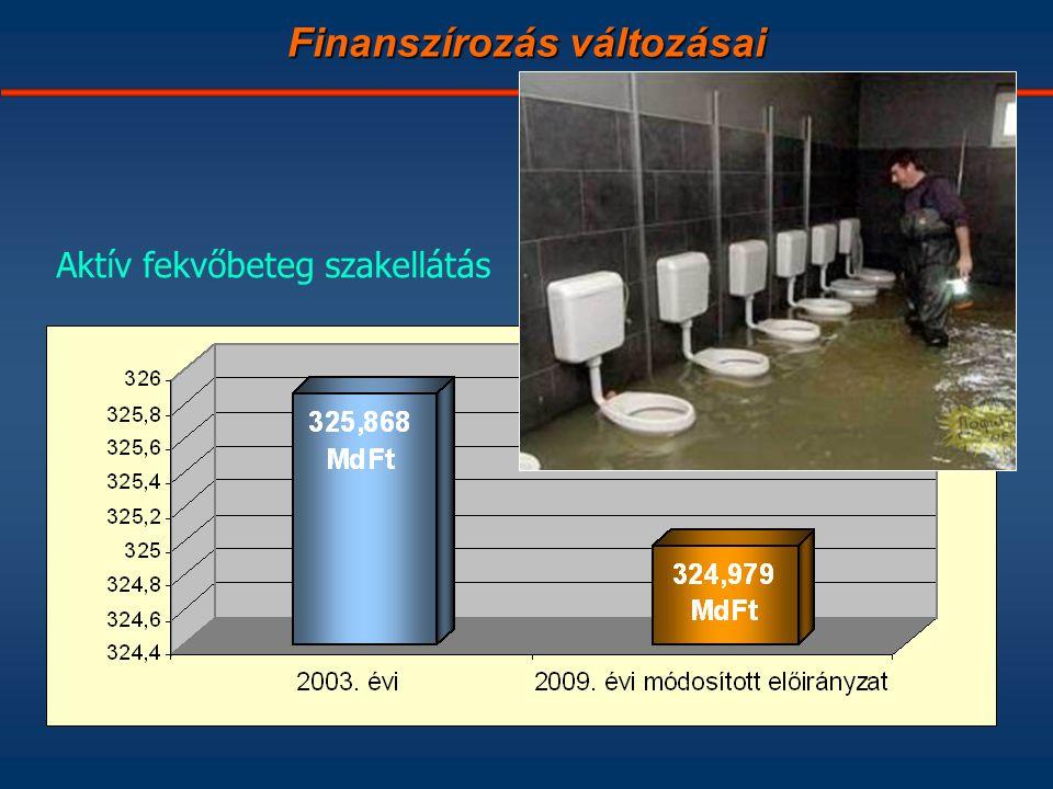 MdFt Finanszírozás változásai