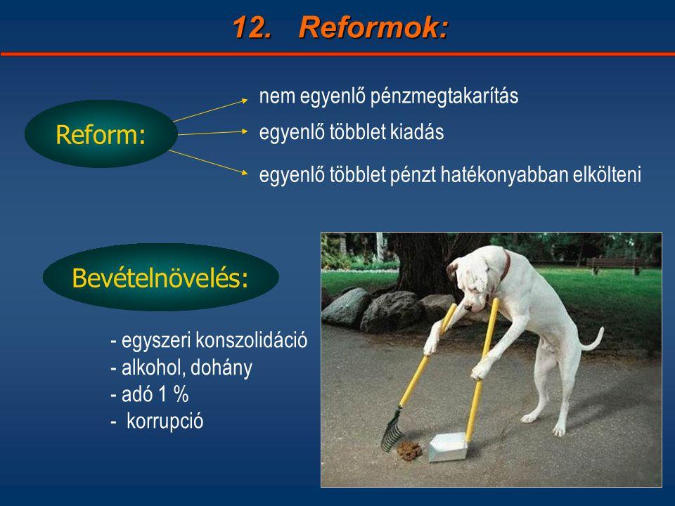 12.Reformok: