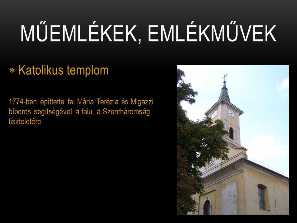  I.világháborús emlékmű Markup Béla szobrászművész alkotása.