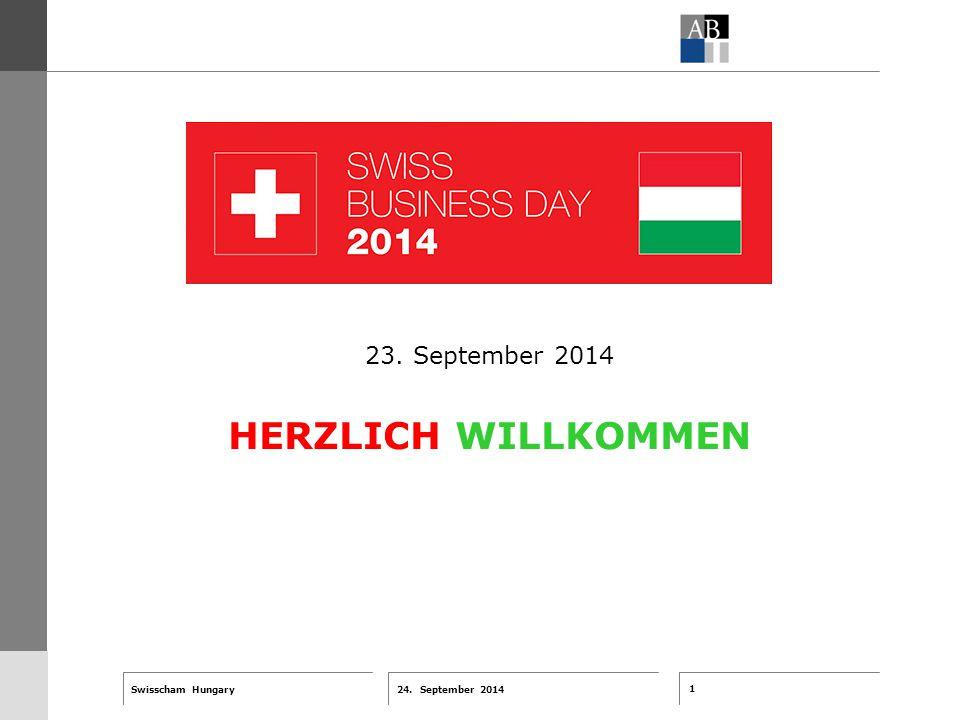 1 24. September 2014 Swisscham Hungary T 1 … R 2 … F 3 … Tell 4 ABT-Farben G 1 G 2 G 3 G 4 G 5 G 6 Zusatzfarben 7.25 5.70 0.00 7.25 8.750.0 5.00 10.00