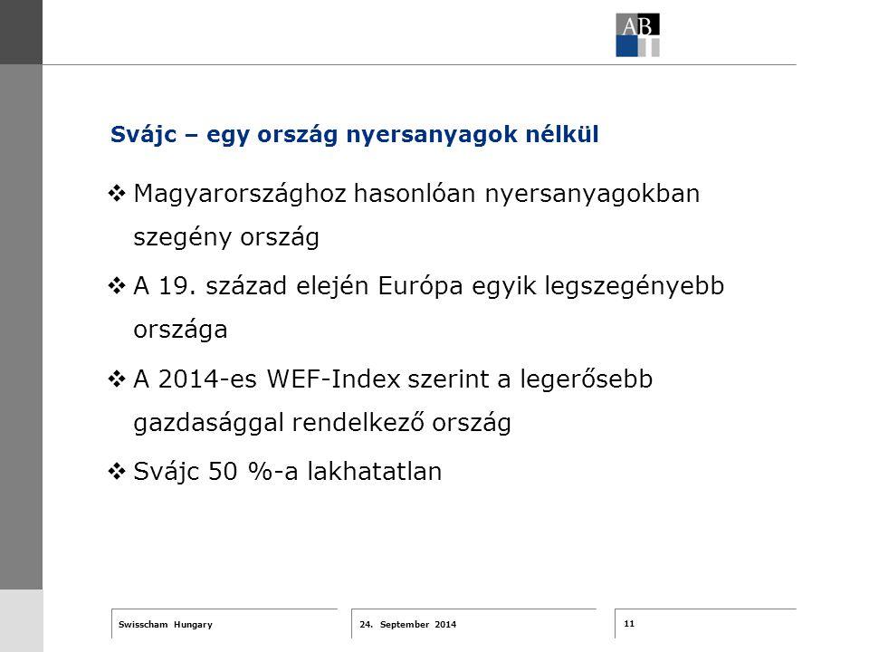 11 24. September 2014 Swisscham Hungary T 1 … R 2 … F 3 … Tell 4 ABT-Farben G 1 G 2 G 3 G 4 G 5 G 6 Zusatzfarben 7.25 5.70 0.00 7.25 8.750.0 5.00 10.0