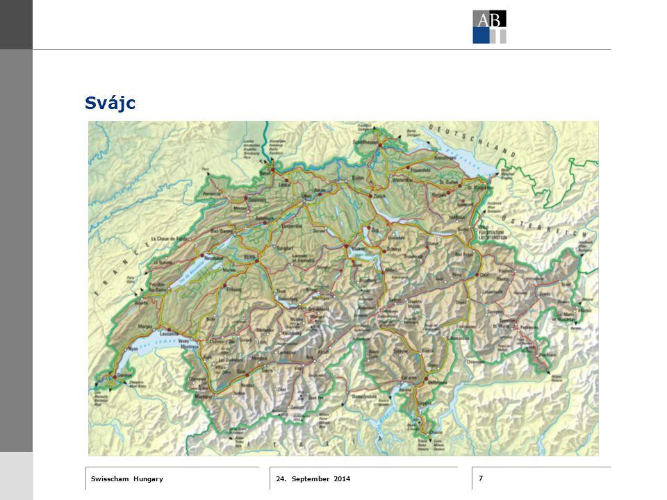7 24. September 2014 Swisscham Hungary T 1 … R 2 … F 3 … Tell 4 ABT-Farben G 1 G 2 G 3 G 4 G 5 G 6 Zusatzfarben 7.25 5.70 0.00 7.25 8.750.0 5.00 10.00