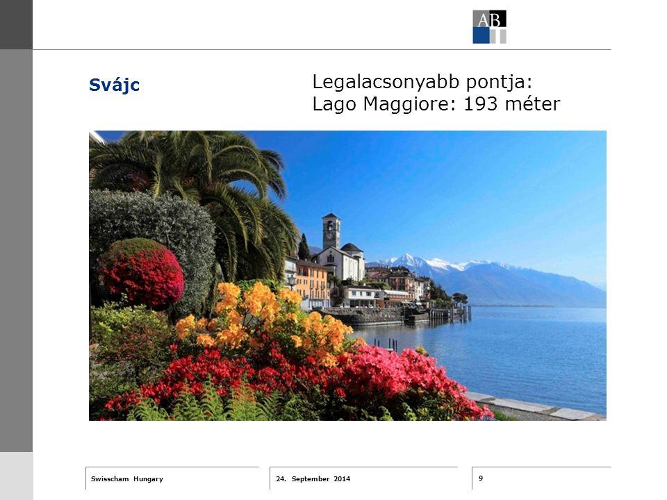 9 24. September 2014 Swisscham Hungary T 1 … R 2 … F 3 … Tell 4 ABT-Farben G 1 G 2 G 3 G 4 G 5 G 6 Zusatzfarben 7.25 5.70 0.00 7.25 8.750.0 5.00 10.00