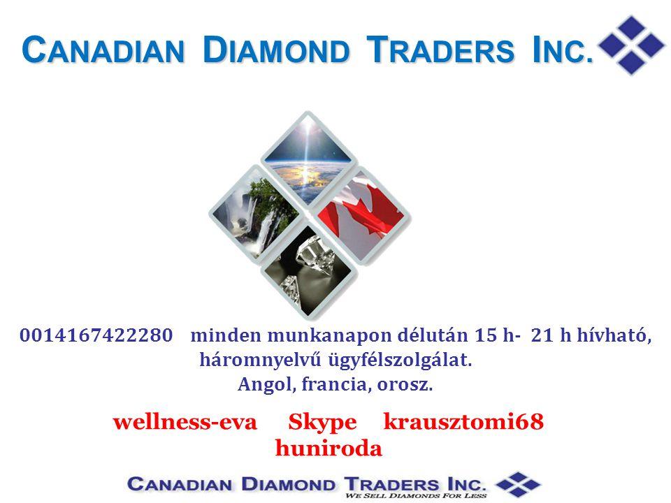 C ANADIAN D IAMOND T RADERS I NC.