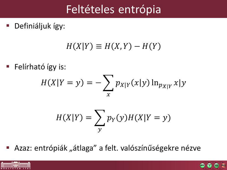 Feltételes entrópia