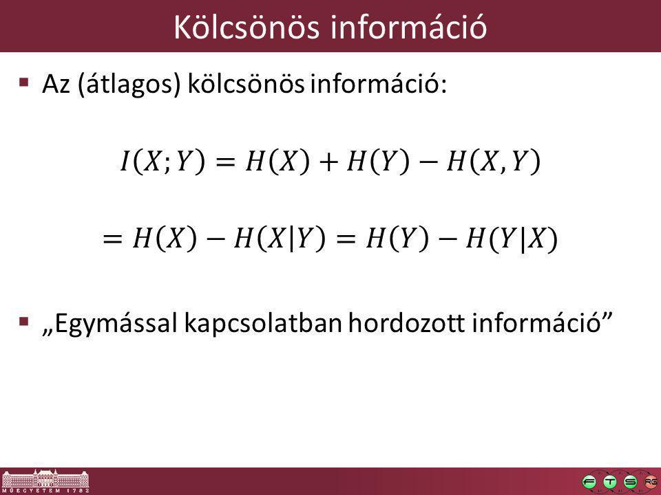Kölcsönös információ