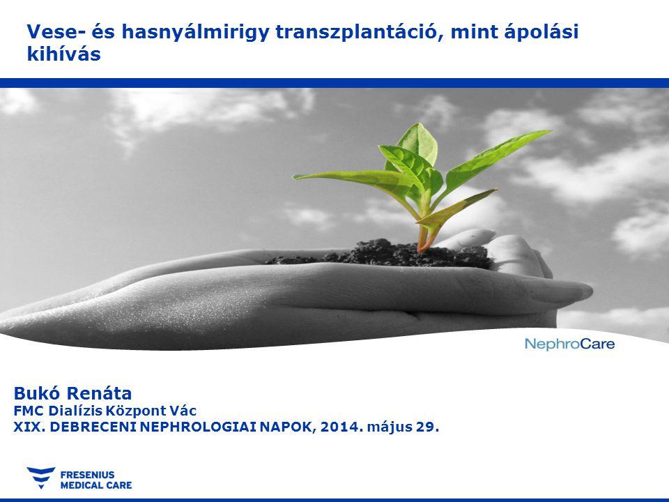 Összegzés Title, Subject, Author © Copyright, 18/04/2012Page 12 A fenti két esetben rövid várólistán eltöltött idő után sikeres transzplantációra került sor, minden téren sikertörténetnek könyvelhetjük el.