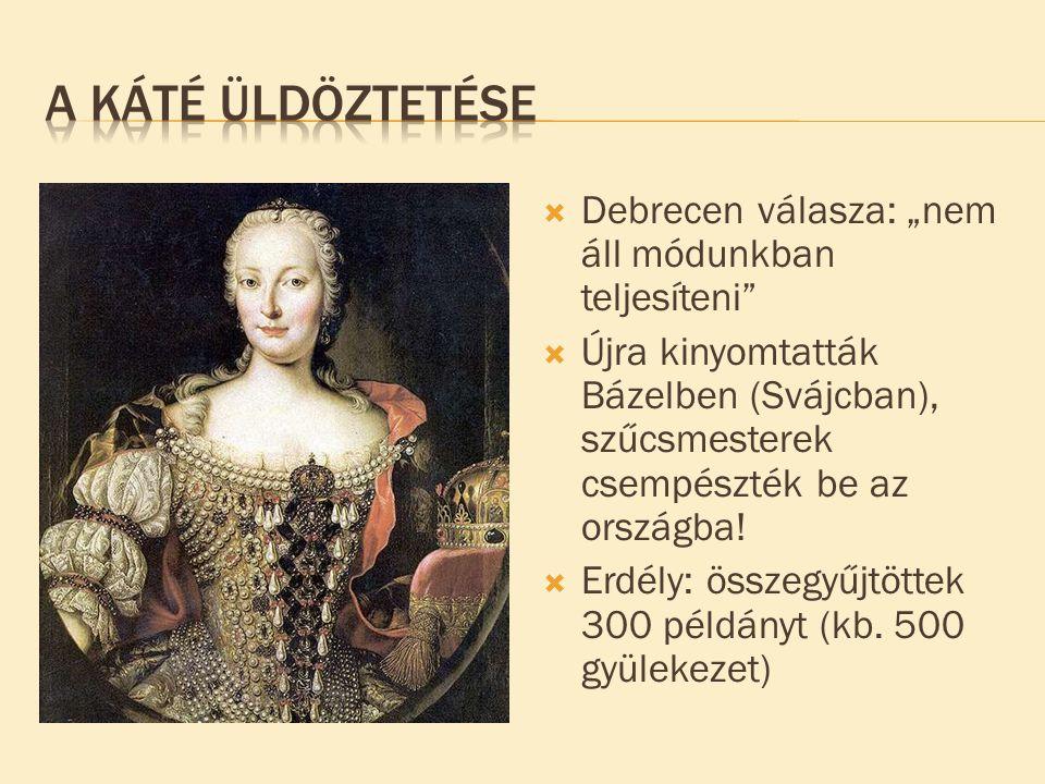 """ Debrecen válasza: """"nem áll módunkban teljesíteni""""  Újra kinyomtatták Bázelben (Svájcban), szűcsmesterek csempészték be az országba!  Erdély: össze"""