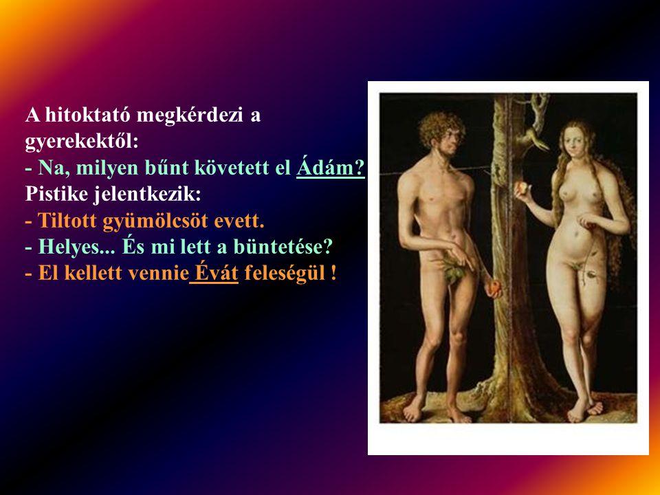 Ádám és Éva ölelgetik egymást az Éden fái alatt. Váratlanul feltámad a szél, felkap egy fügefalevelet, és sodorja, sodorja, keresztül az Édenen. Ádám