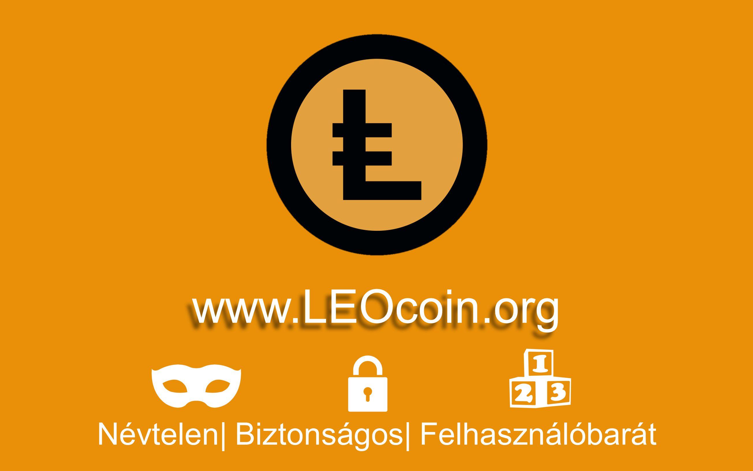 Névtelen| Biztonságos| Felhasználóbarát www.LEOcoin.org