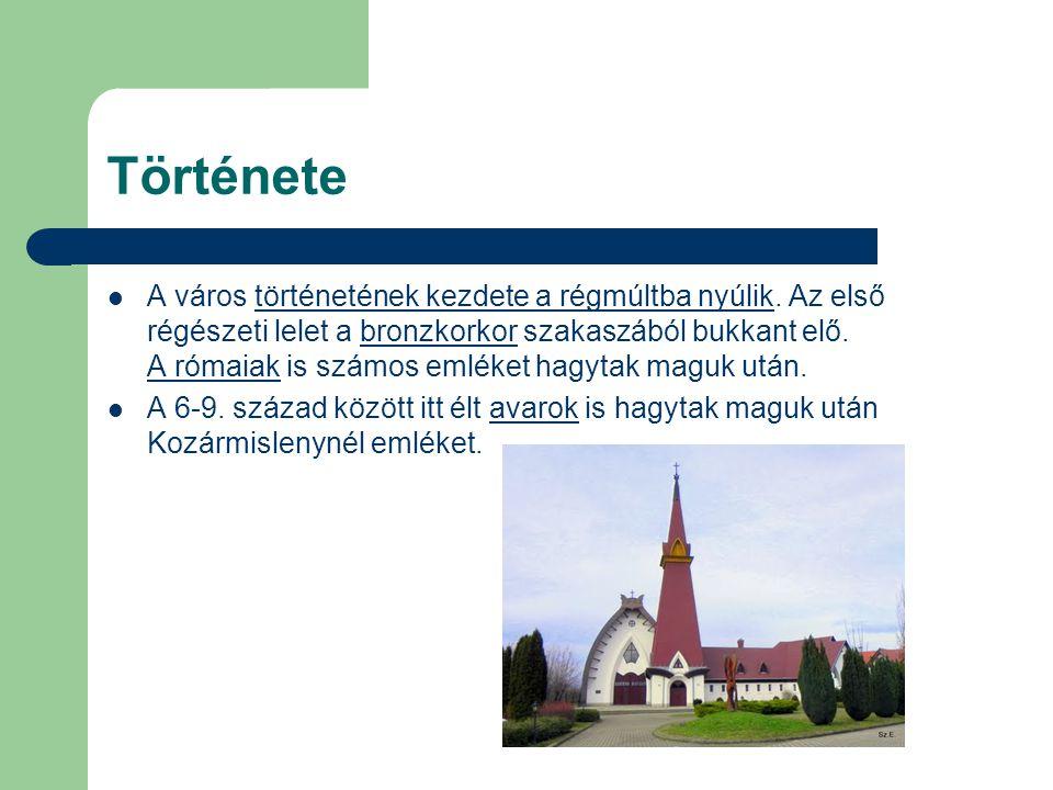 Kozármislenyben található Assisi Szent Ferenc Betegápoló Nővérek kolostora és temploma, amit Flüe-i Szt.