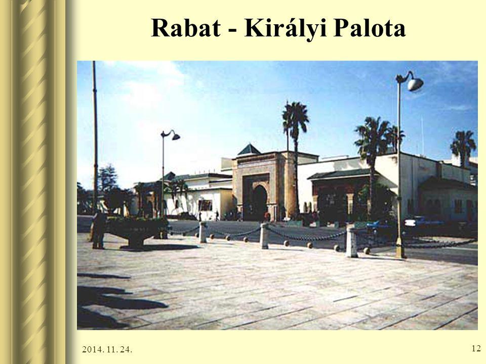 2014. 11. 24. 11 Rabat - Királyi Palota