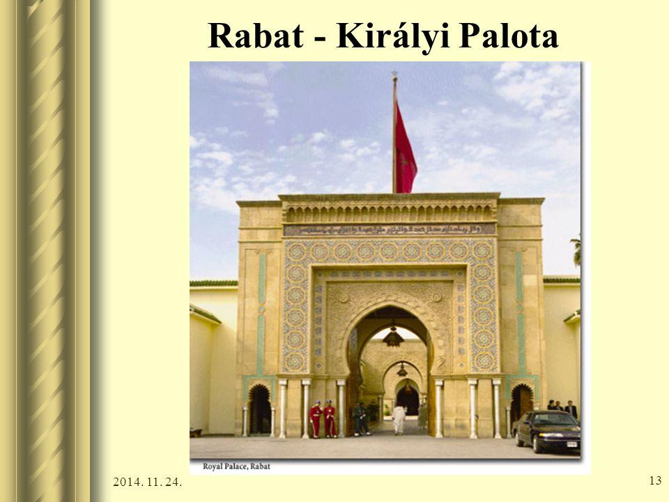 2014. 11. 24. 12 Rabat - Királyi Palota
