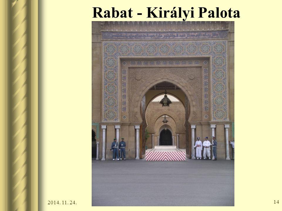 2014. 11. 24. 13 Rabat - Királyi Palota