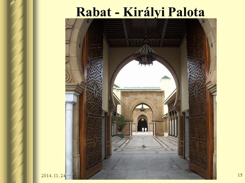 2014. 11. 24. 14 Rabat - Királyi Palota