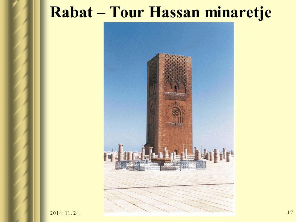 2014. 11. 24. 16 Rabat – Tour Hassan minaretje