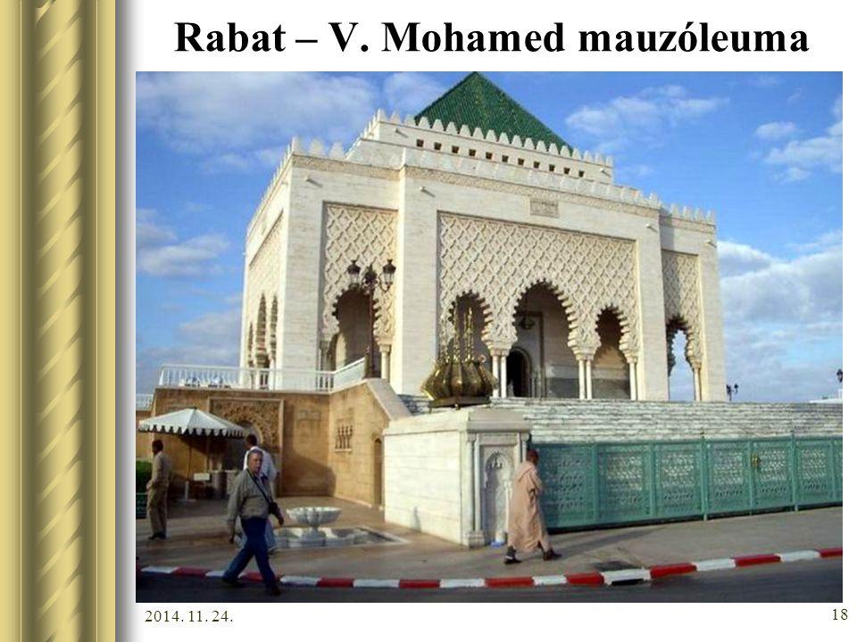 2014. 11. 24. 17 Rabat – Tour Hassan minaretje