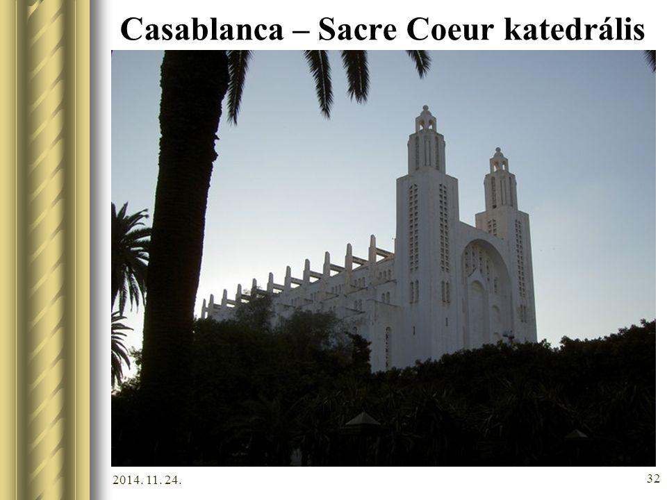 2014. 11. 24. 31 Casablanca – Királyi palota