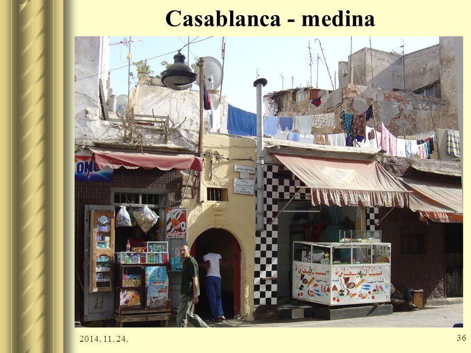 2014. 11. 24. 35 Casablanca