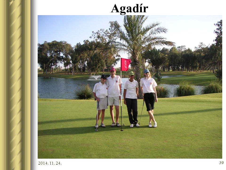 2014. 11. 24. 38 Agadír